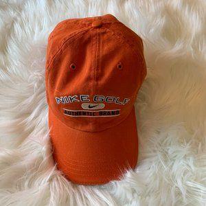 Nike Authentic Brand Men's Orange Golf Hat